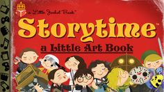 """An art book collecting all 125+ """"Storytime"""" prints - a series of pop-culture…"""