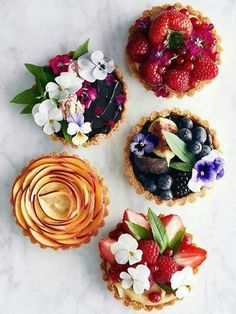 the most beautiful tarts
