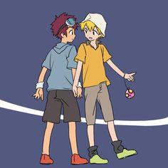 Digimon Adventure 02, Fanart, Hero, Random Stuff, Fictional Characters, Random Things, Fan Art, Fantasy Characters