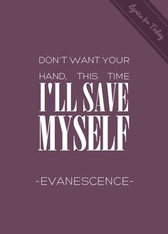 going under - evanescence. is a music mood tonight. <3 love this band, especially Amy Lee