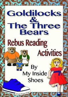 Engage young learners with these rebus activities. Read, write and retell the story of Goldilocks and The Three Bears using the tools provided. Flashcards to help identify rebus cues, to support writing or to use in other activities. Rebus stories, both colour and black and white.