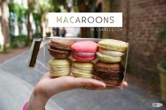 Macaroons in Charleston! Yum! #macaroons #food #charleston #yummy