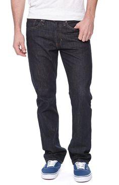 Bullhead Denim Co Gravels Slim Midnight Sky Jeans - Mens Jeans - Blue - 32W - 32L
