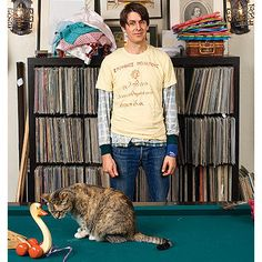 Well, it's Stephen Malkmus and a cat...