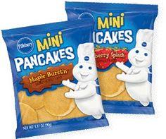 BOGO FREE Pillsbury Heat-N-Go Mini Pancakes Coupon! ONLY $0.44 @Walmart!