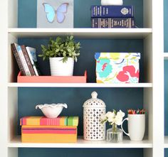 Decorative File Boxes.  Wood Boxes from Craft Shop, glue, staple gun and fabric from Pine Cone Hill!