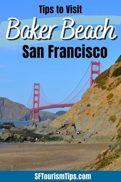 Check out my article with everything you need to know to visit Baker Beach. It's a wonderful place to stroll along the waterfront, get amazing views of the Golden Gate Bridge, or enjoy a picnic with your loved ones. You'll find it in the Presidio on the northwestern end of San Francisco. Baker Beach San Francisco, San Francisco With Kids, San Francisco Attractions, San Francisco Vacation, Nude Beach, Ocean Beach, Whats Open, Bad Hotel, China Beach