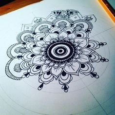 Have a great day everyone! Mandalas are getting over! :) #mandalas #mandala #draw #drawing #doodle #coloringbook #adultcoloringbook #sketch #bw #art #design #handdrawn #etsy #illustration #mindfulness #relax