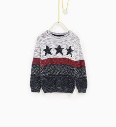 Stars sweater-SWEATERS AND CARDIGANS-BOY | 4-14 years-KIDS | ZARA United Kingdom