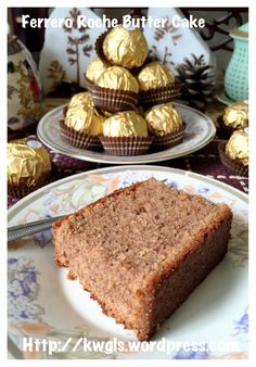 Rich Man's Butter Cake?–Ferrero Rocher Butter Cake or Hazelnut Butter Cake or Oreo Butter Cake (金莎牛油蛋糕