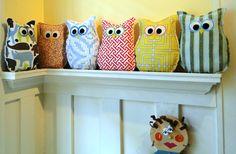 32 Flavors Boutique - Adorable Owl Pillow