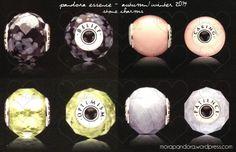 Pandora Essence Autumn 2014 - Stone Charms
