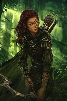 Elf by h1fey.deviantart.com on @DeviantArt