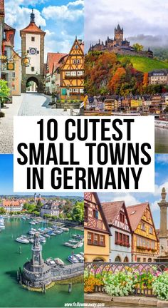 Cool Places To Visit, Places To Travel, Travel Destinations, Visit Germany, Germany Travel, Trip To Germany, Best Cities In Germany, Cities In Europe, Europe Travel Guide