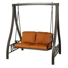 Hanamint Grand Tuscany Outdoor A-Frame Swing Lawn Furniture, Metal Furniture, Home Decor Furniture, Outdoor Furniture, Home Swing, Porch Swing, Diy Bedroom Decor For Teens, A Frame Swing, Garden Swing Seat
