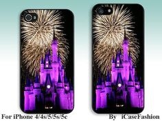 Disney castle---iPhone 5 Case, iPhone 4 case, iphone 4s case,iPhone 5c Case, iPhone 5s Case, iPhone Case, iphone cover,phone case on Etsy, $6.99
