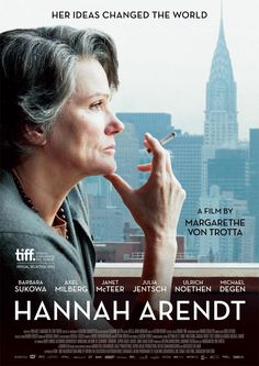 """Hannah Arendt Trailer """"Her ideas changed the World"""" 