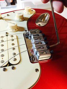 Fender American Deluxe Fat Stratocaster's Locking tremolo