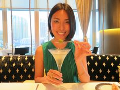 Quick way to get happy. Martini time :) At Tasting Room in Macau