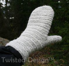 naalbinding mittens