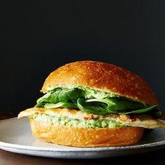 Green Goddess Chicken Sandwiches (Food52)