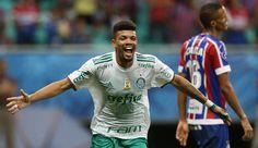 Juninho comemora gol! Palmeiras 4 x 2 Bahia