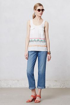 MiH Halsy High-Rise Crop Jeans #anthropologie