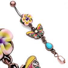 Beautiful belly ring <3