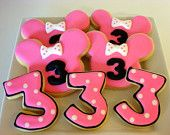 Minnie Mouse Birthday Party Ideas by Honeyprint on Etsy