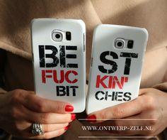 Leuk cadeau voor je BF ... Of maak zelf je eigen hoesje. www.ontwerp-zelf.nl