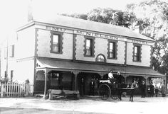 Emu Hotel, 1920s Morphett Vale, South Australia Robert Disher was the publican and post master at the original Emu Hotel in Morphett Vale. One of his sons was born in Morphett Vale (although the registers say Adelaide) in 1850. He ran the hotel from 1849 to 1854.