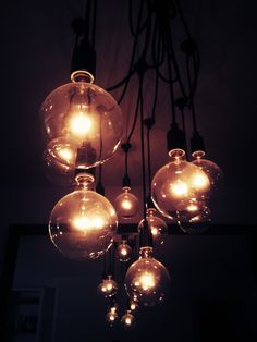 These gorgeous lights for my dining room