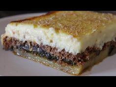 Ο πιο εύκολος Μουσακάς - How to make Authenic Greek Moussaka - YouTube Greek Recipes, Sandwiches, Cheesecake, Pie, Desserts, Food, Youtube, Torte, Tailgate Desserts