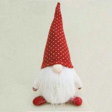 Hank Chubby Santa Gnome Christmas Figure