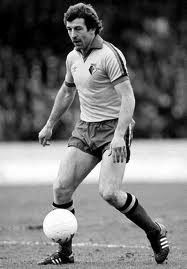 Gerry Armstrong, Northern Ireland international (one of the players from the great World Cup team of Spain 1982) and the scorer of Watford's first goal in the top flight of English football against Everton in season 82/83 (2-0 , Pat Rice scored the second, an over hit free kick carried over the line by goal keeper Neville Southall)