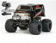 The Tamiya XB Lunch Box Black Edition 2.4GHz in 1/12 scale is the latest addition to the range of Tamiya Expert Built off road electric radio control monster trucks.