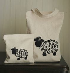 sheep tote bag. Order yours at Boardman Printing.