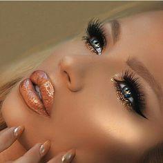 - Makeup Tips For Older Women Cute Makeup, Glam Makeup, Gorgeous Makeup, Hair Makeup, Gold Makeup Looks, Makeup Eyeshadow, Beauty Make-up, Beauty Hacks, Natural Beauty