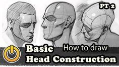 """""""How To Draw Basic Head Construction Pt 1/2"""" by Reinaldo Quintero a.k.a Reiq* • Blog/Website 