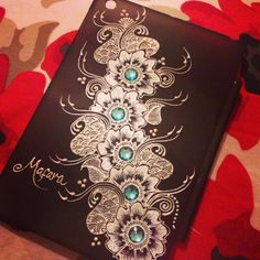 henna on canvas - Google Search