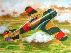Spanish Government Fokker D-XXI M-25
