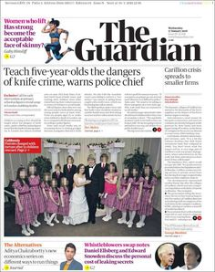 'House of Horror' and Bayeux Tapestry on the move Newspaper Cover, Newspaper Headlines, Newspaper Design, Bayeux Tapestry, Horror House, Police Chief, The Guardian, Zine, Teaching
