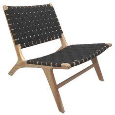Sentosa Occasional Teak and Rattan Chair