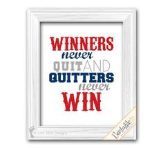 Sports Quote Baseball Theme Teen Boy bedroom by LostSockDesigns, $6.50