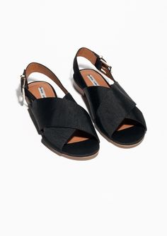 & Other Stories | Ribbed Cotton Sandals