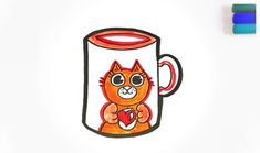 Hey guys it's Nik, let's warm our selves up with a nice hot drink! I've drawn for you a cute kitty mug... enjoy!