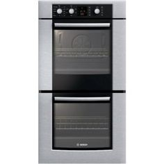 #7: Bosch 300 Series HBN3550UC 27 Double Electric Wall Oven.
