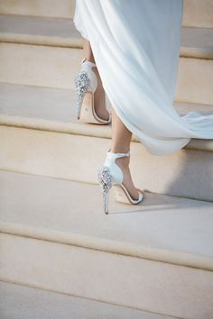 And because every bride deserves a little extra attention, we've even included something blue, as each shoe comes customised with a good luck rhinestone charm placed under the sole.