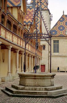 Hospices de Beaune Courtyard