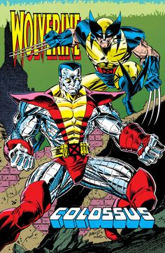 Wolverine and Colossus by Mark Bagley and Terry Austin